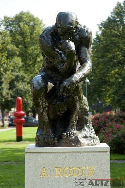 """ARTZUID 2009 archief Rodin - """"Le Penseur"""""""
