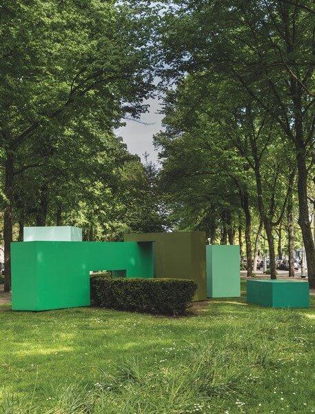 Krijn de Koning - Work for Art Zuid (the Garden), 2017