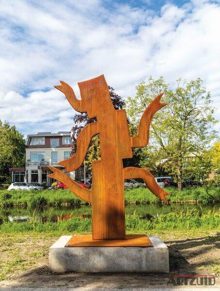 Klaas Gubbels - De Vijftuiter (2019) - ARTZUID Annex Amstelveen