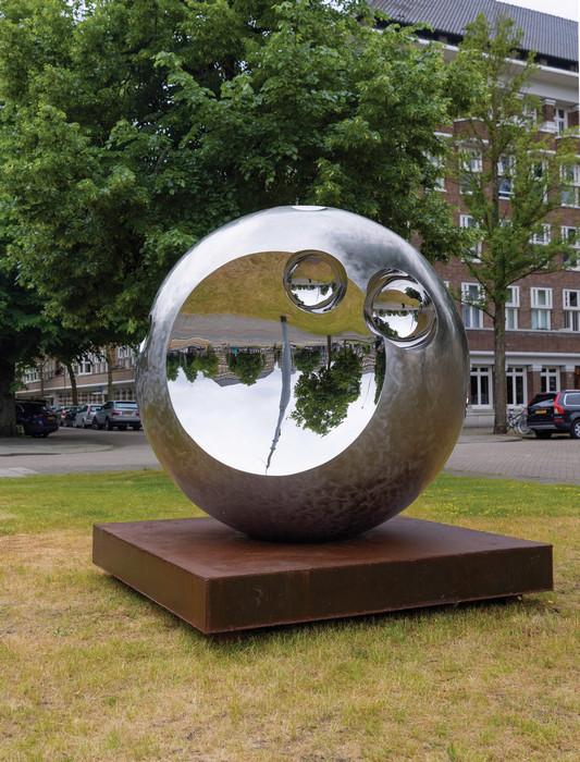 Ronald A. Westerhuis - Shine (2021) - photographer JW Kaldenbach - ARTZUID 2021_