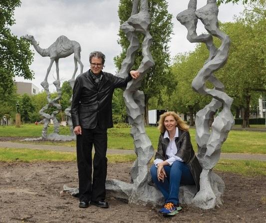 Cintha van Heeswijck - Ralph Keuning - Jean Marie Appriou - The big watcher, The big walker - ARTZUID 2021_tn1